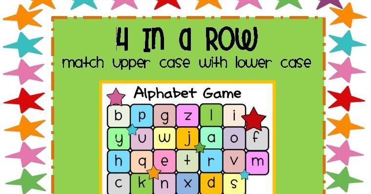 Free Printable Alphabet File Folder Games