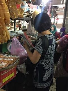 Jalan-jalan cari makan, Pengedar Sah Shaklee Kawasan anda, Program bulanan, Shaklee Detox, Shaklee Tawau, Pasar Tanjung Tawau ; ikan bilis murah