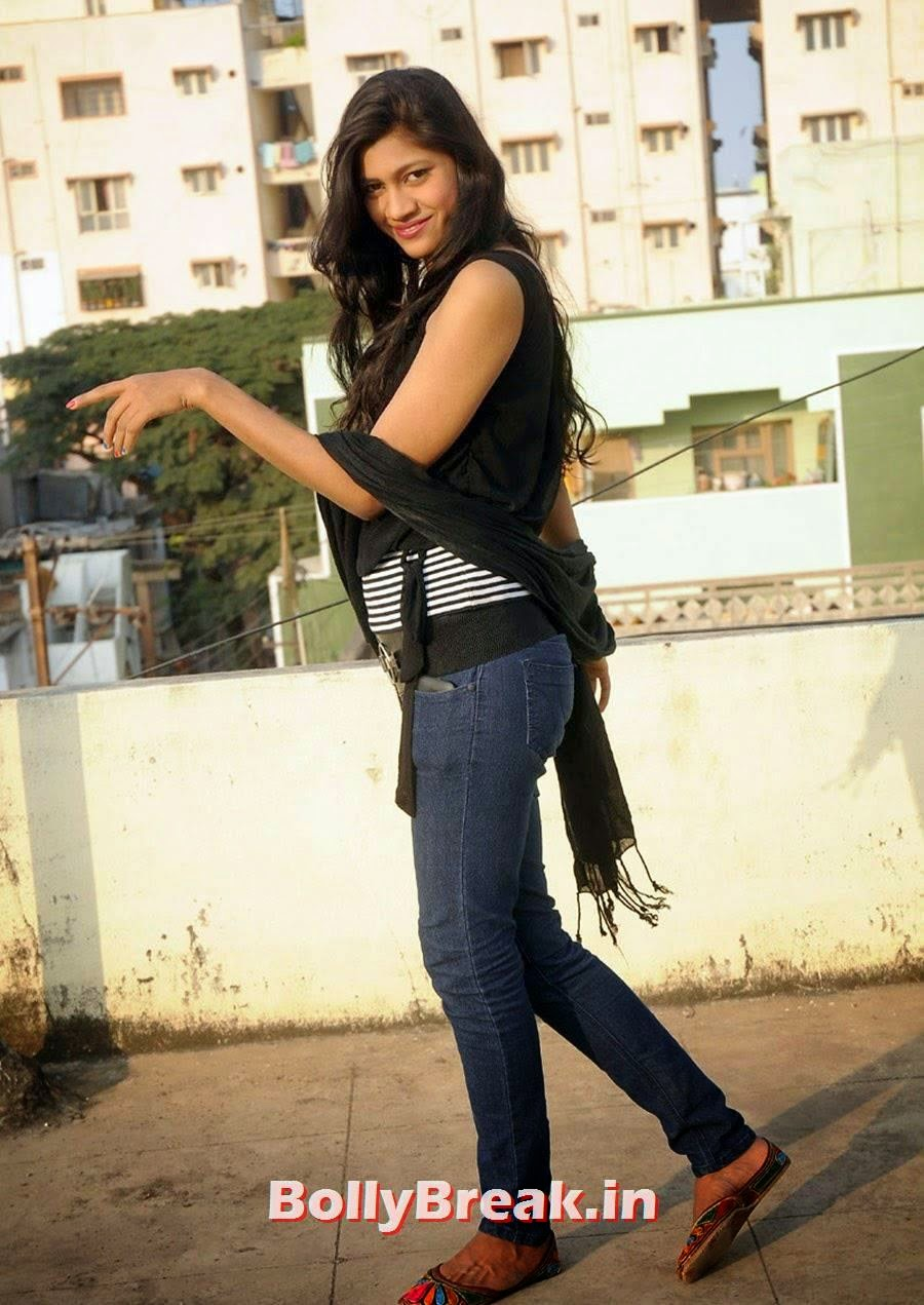 Tamil Girl Actress Hot Photos In Jeans - Sneha Tagore - 14