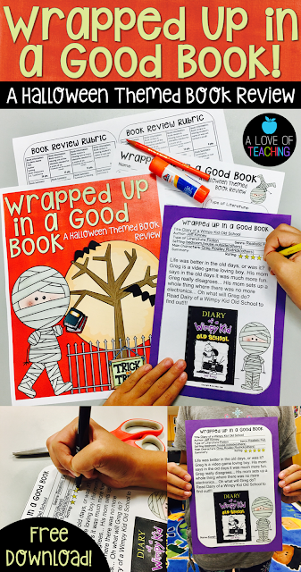 This is a free download for students to use while writing book reviews.