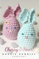 Crochet Huggie Bunnies