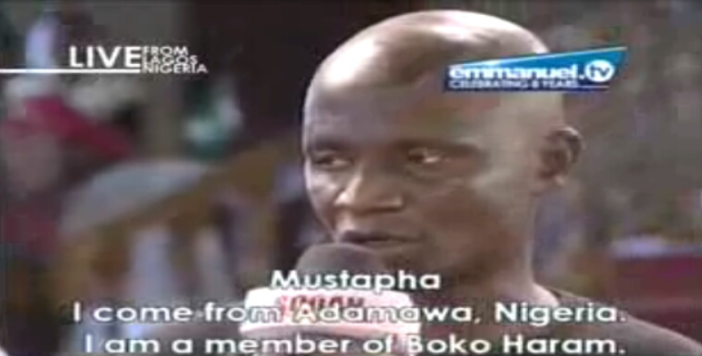 Boko Haram terrorist confesses before T.B Joshua, reveals failed plans to bomb the church