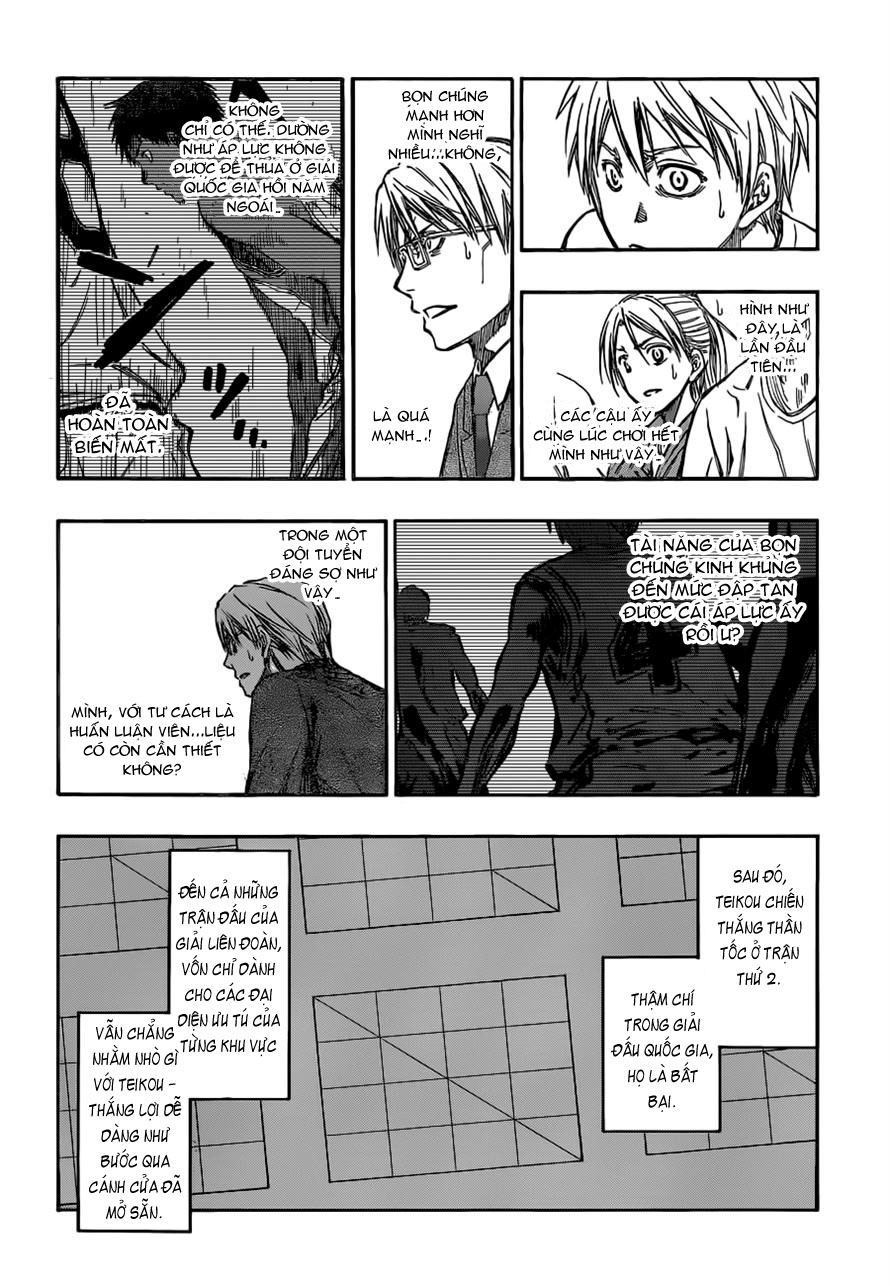 Kuroko No Basket chap 225 trang 10