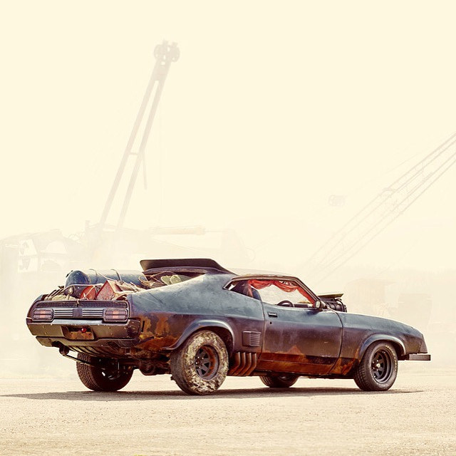 Mad Max Road Warrior Last V Eight Interceptor