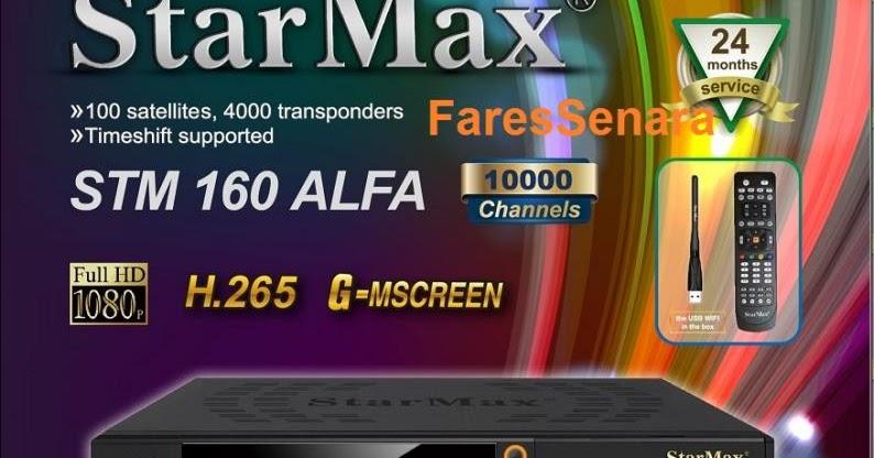 الجهاز العملاق StarMax 160 ALFA يفتح DISH TV و NOVA اليونانية ويدعم