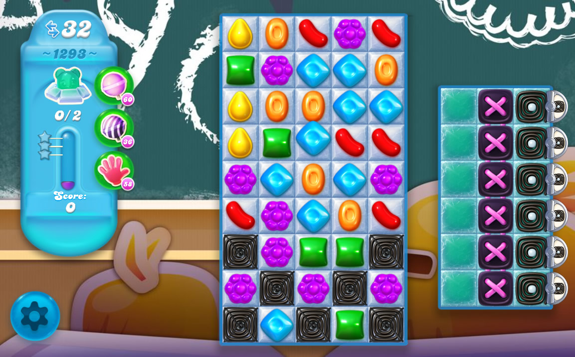 Candy Crush Soda Saga level 1293