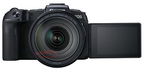 Canon EOS RP, вид спереди