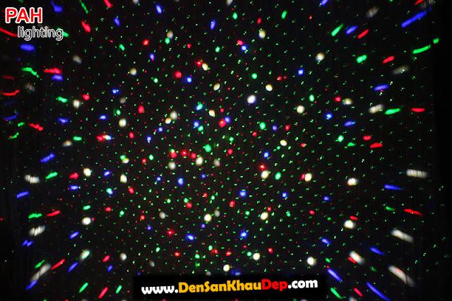 Hiệu ứng đèn laser led LELA cảnh 1
