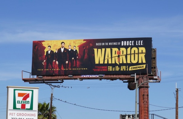 Warrior season 1 billboard