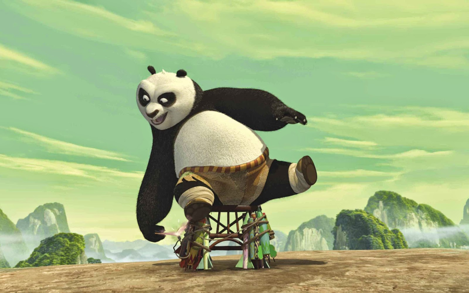 Wallpaper Kungfu Panda 2 HD Deloiz Wallpaper