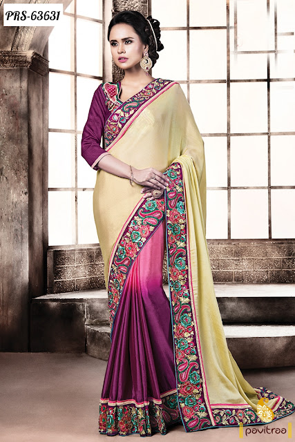 Best trendy online designer collection sarees with price for Luxury online shopping