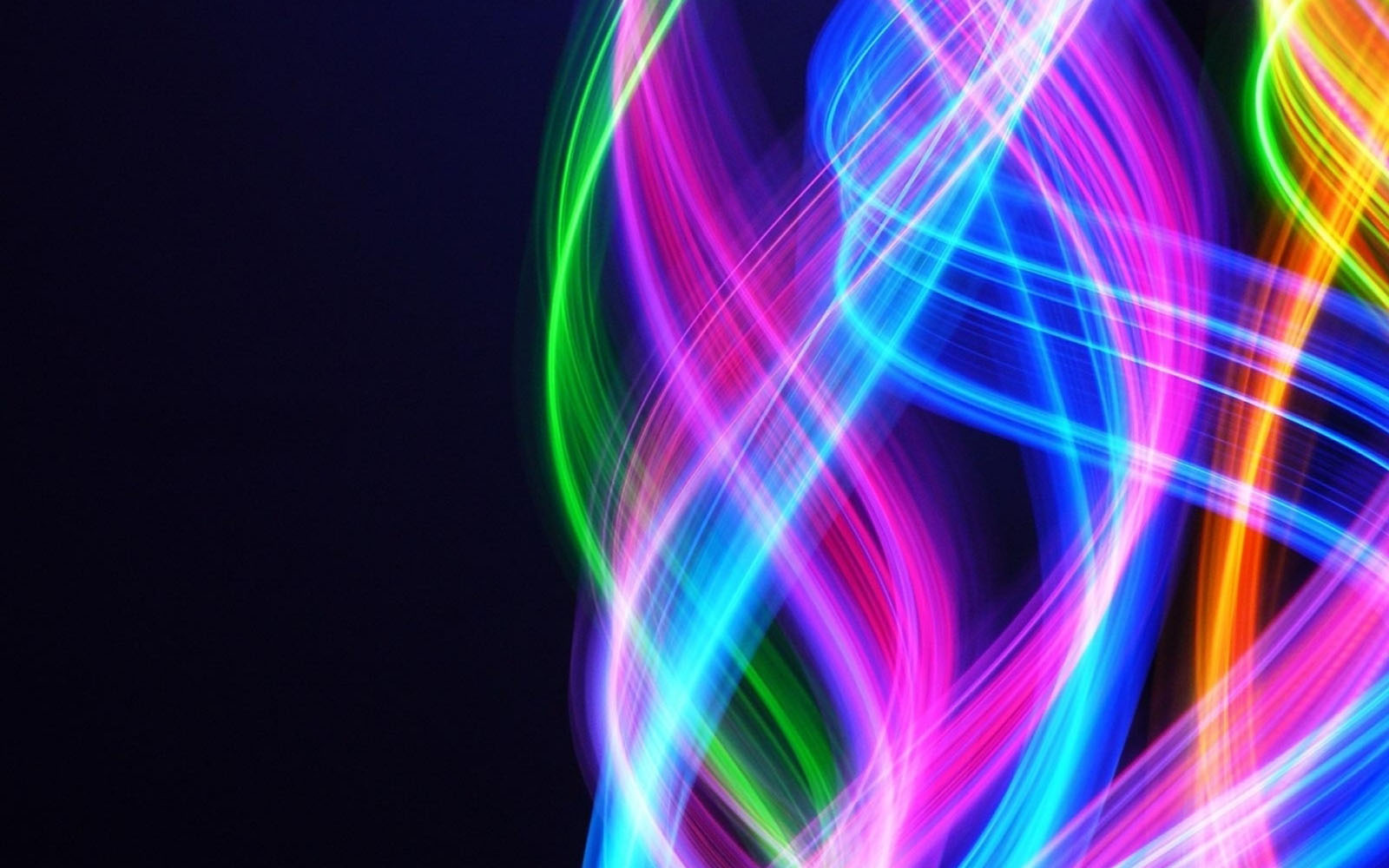 abstract neon wallpapers 2
