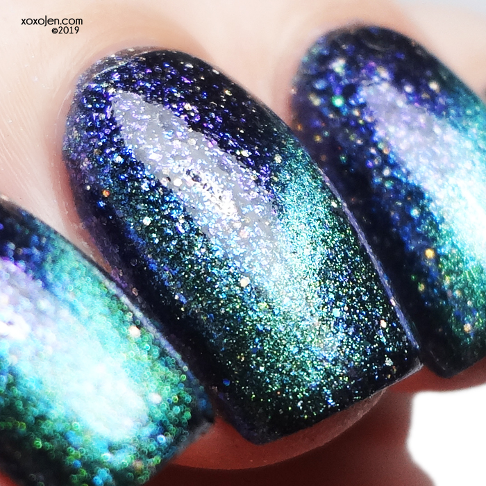 xoxoJen's swatch of KBShimmer The Nothing
