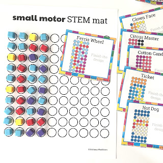 Small Motor STEM Activities by Brittany Washburn