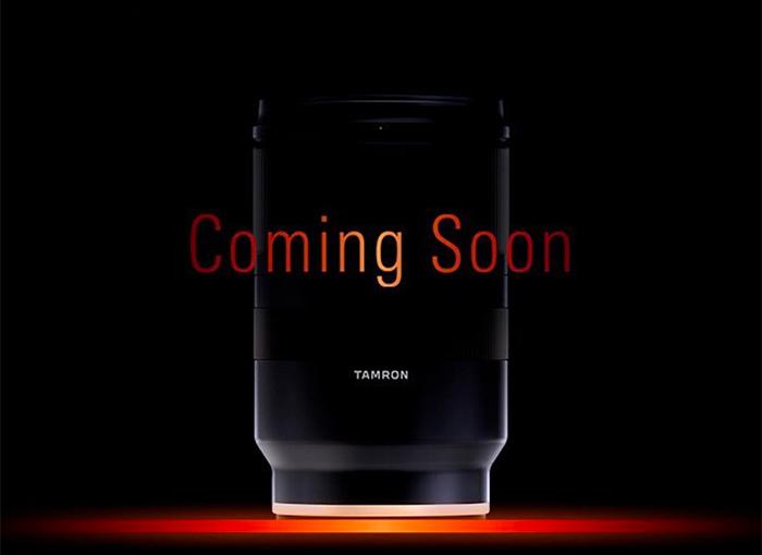 Реклама неизвестного объектива Tamron