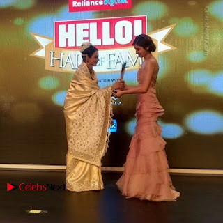 Celebs On Red Carpet Of Hello Hall Of Fame Awards