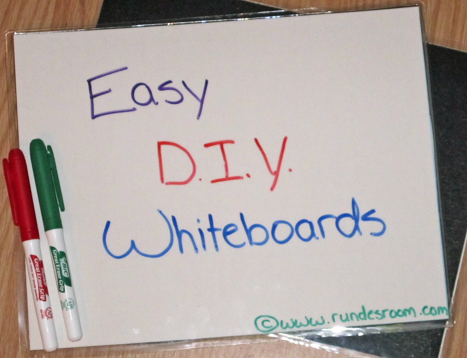 Classroom Diy Diy Two Sided Dry Erase Boards