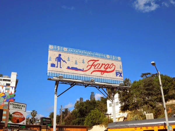 Fargo TV remake series premiere billboard