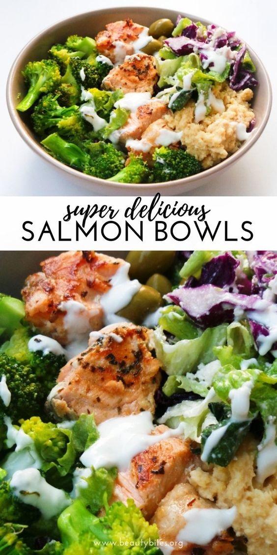 Mediterranean Salmon Bowl