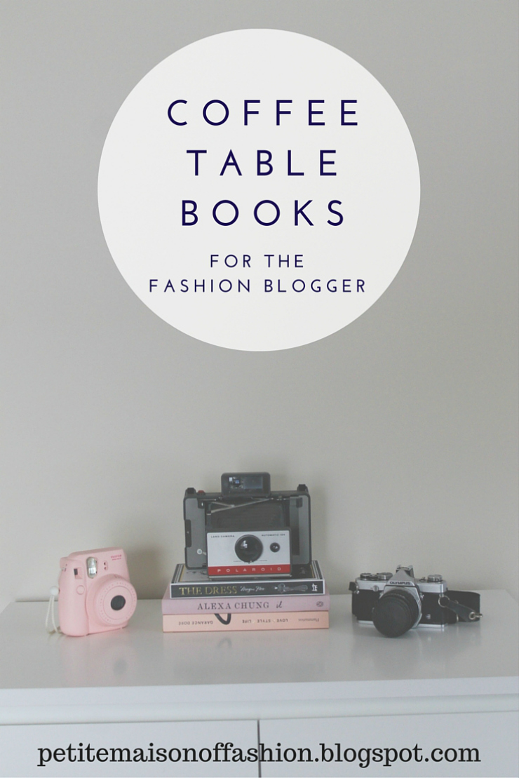 Coffee Table Books for the Fashion Blogger