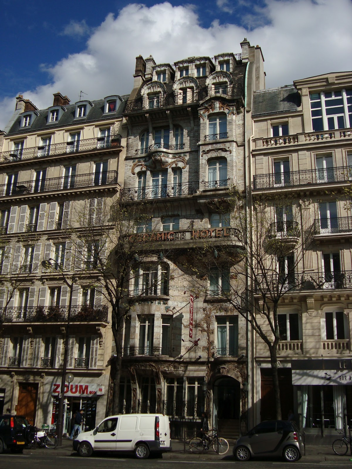 Paseos art nouveau h tel ceramic 34 avenue de wagram for Maison du monde 29 avenue de wagram