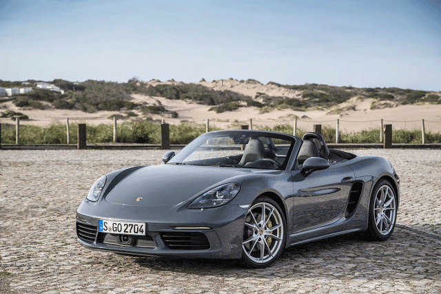 Porsche 718 Boxster - Top 10 new supercars that cost less than $100K