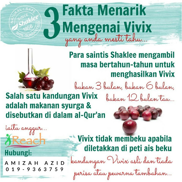 vivix minuman kecantikan semulajadi
