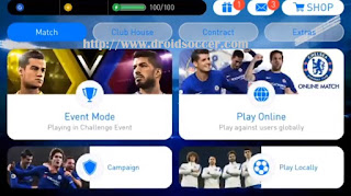 Download PES 2018 Mobile Mod CHELSEA Graphic by Itangashr Apk + Obb