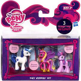 MLP Pony Wedding Set Princess Cadance Blind Bag Pony