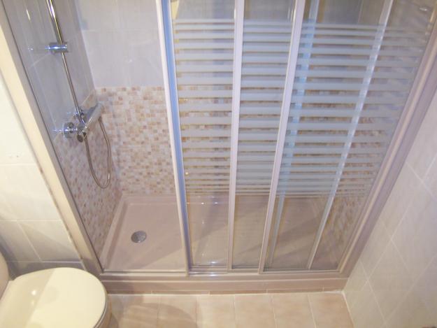 Cambio ba era por ducha sin obras reformas plomer a - Como cambiar banera por ducha sin obra ...