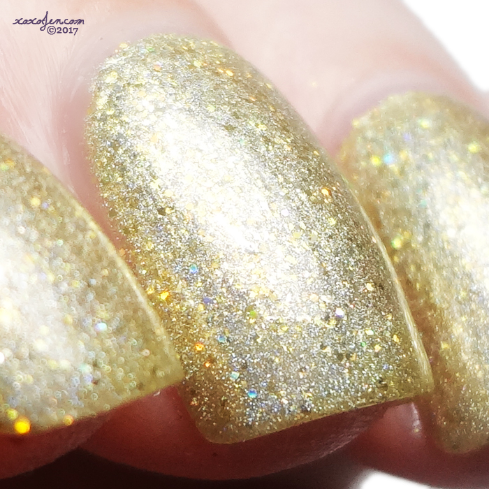 xoxoJen's swatch of Literary Lacquers The Golden Afternoon