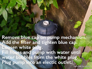 directions for a Intex pool pump