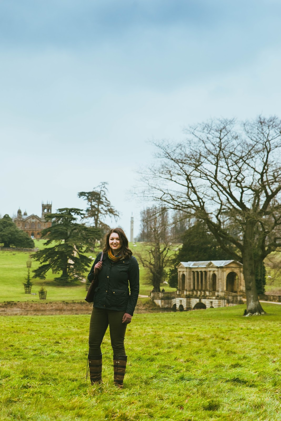 country style at stowe gardens palladian bridge dubarry fashion boots