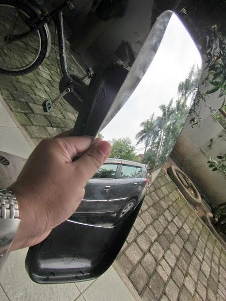DIY Membuat kaca cermin spion Agya Ayla dari bahan