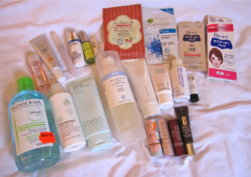 Facial cleansers without parabens