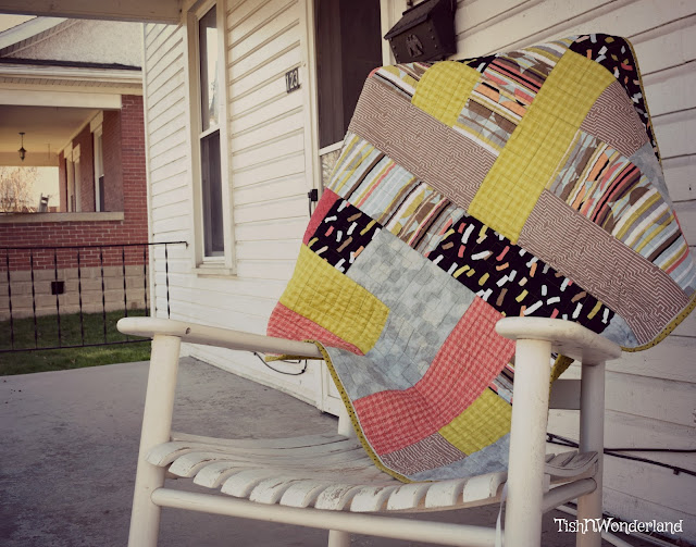 Bundle Buster Baby Quilt--Finish