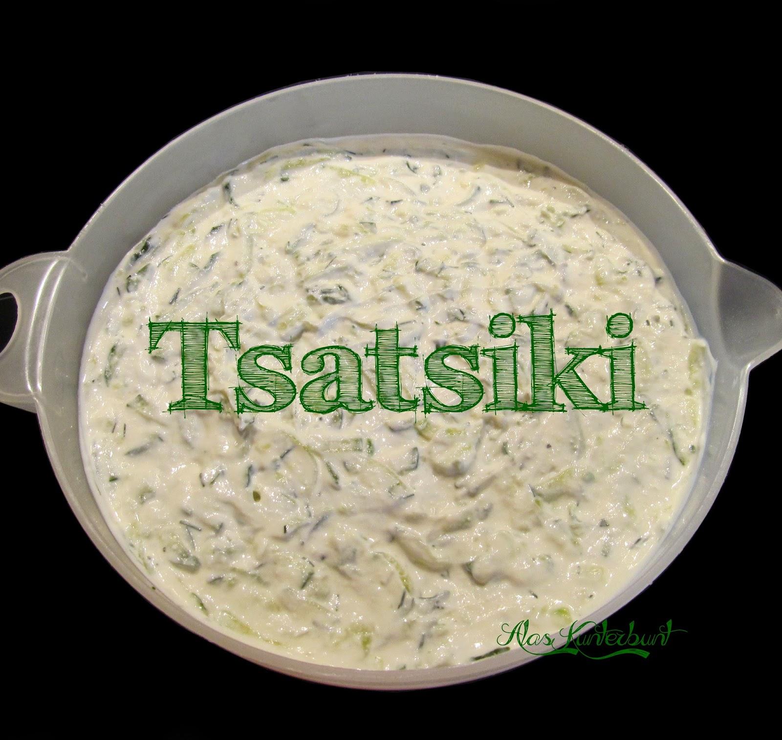 Tsatsiki nach Geheimrezept | Ala's Kunterbunt