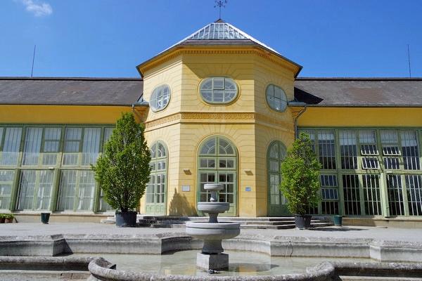 autriche burgenland eisenstadt palais esterhazy palace schlosspark orangerie