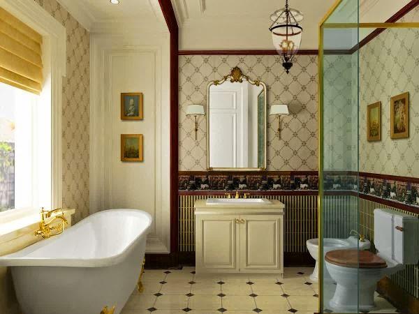 Model kamar mandi minimalis moderen