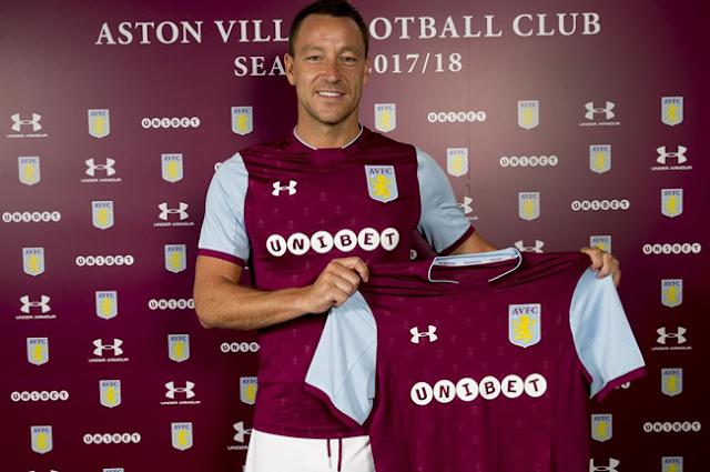 Aston Villa Jadi Klub Baru John Terry
