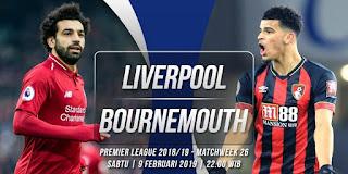 اون لاين مشاهدة مباراة ليفربول وبورنموث بث مباشر اليوم 9-2-2019 الدوري الانجليزي صلاح اليوم بدون تقطيع