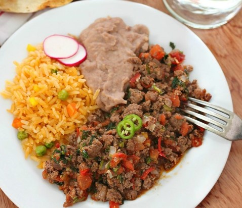 EASY MEXICAN GROUND BEEF RECIPE