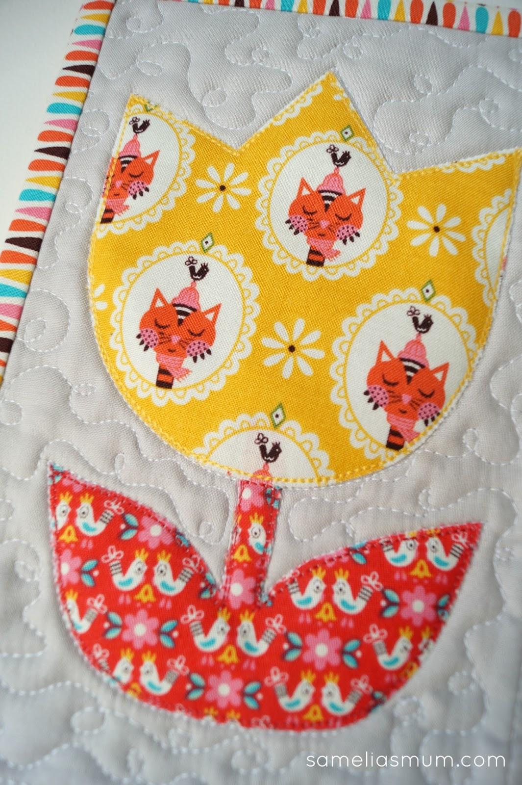 Tulip Time Quilt Pattern Samelias Mum