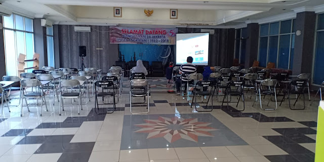 Ruangan Pelatihan SIAP DIGITAL untuk IKASMA 54