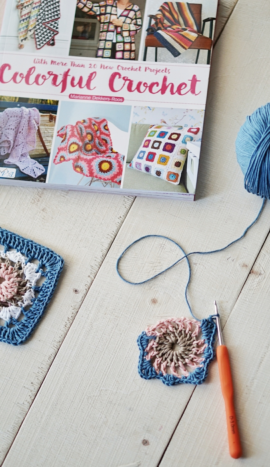 2030f352418304 There are so many wonderful items to select from in Colorful Crochet . I  started with the Colorful Cushion Roll Lenize, ...