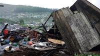 Disapu Puting Beliung Saat Terlelap Tidur, Begini Kondisi Rumah Warga di Desa Dawuhan Sirampog