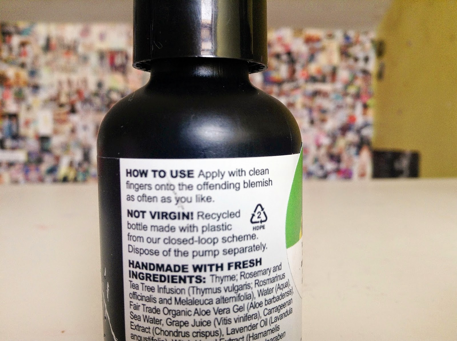 lush greased lightning spot treatment review