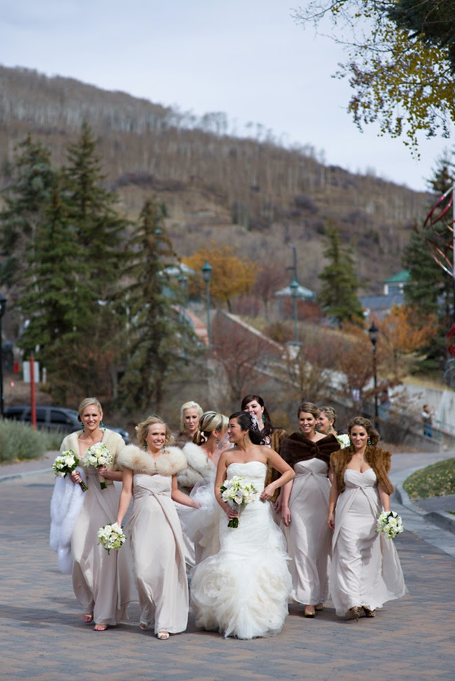 Stunning Winter Destination Wedding In Vail Colorado Belle The Magazine