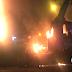 Manifestantes tenían como fin quemar bus con pasajeros en Limón