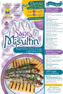 Sagra del Misultin 1-2 luglio Dervio (LC)